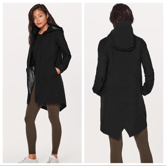 ea9087089 lululemon athletica Jackets & Coats | Lululemon Rain Haven Coat ...